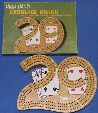 pacific Games 29 High Hand Cribbage Board