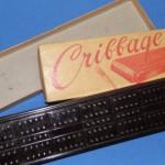 Vintage Bakelite Cribbage Board