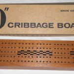 "Big ""D"" Cribbage Board by: The Are-Jay Company"