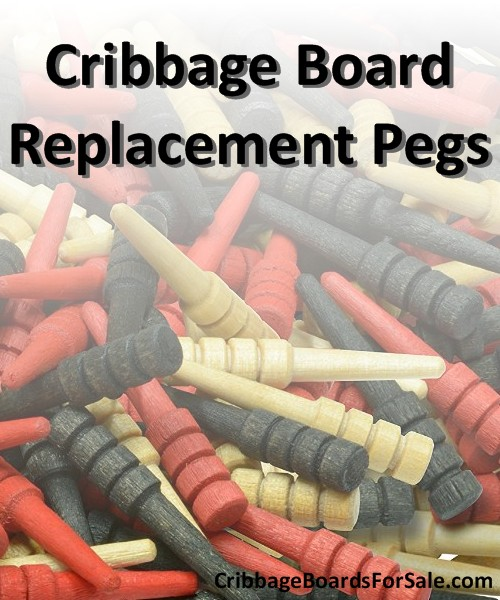 Revive your cribbage board with replacement cribbage board pegs.
