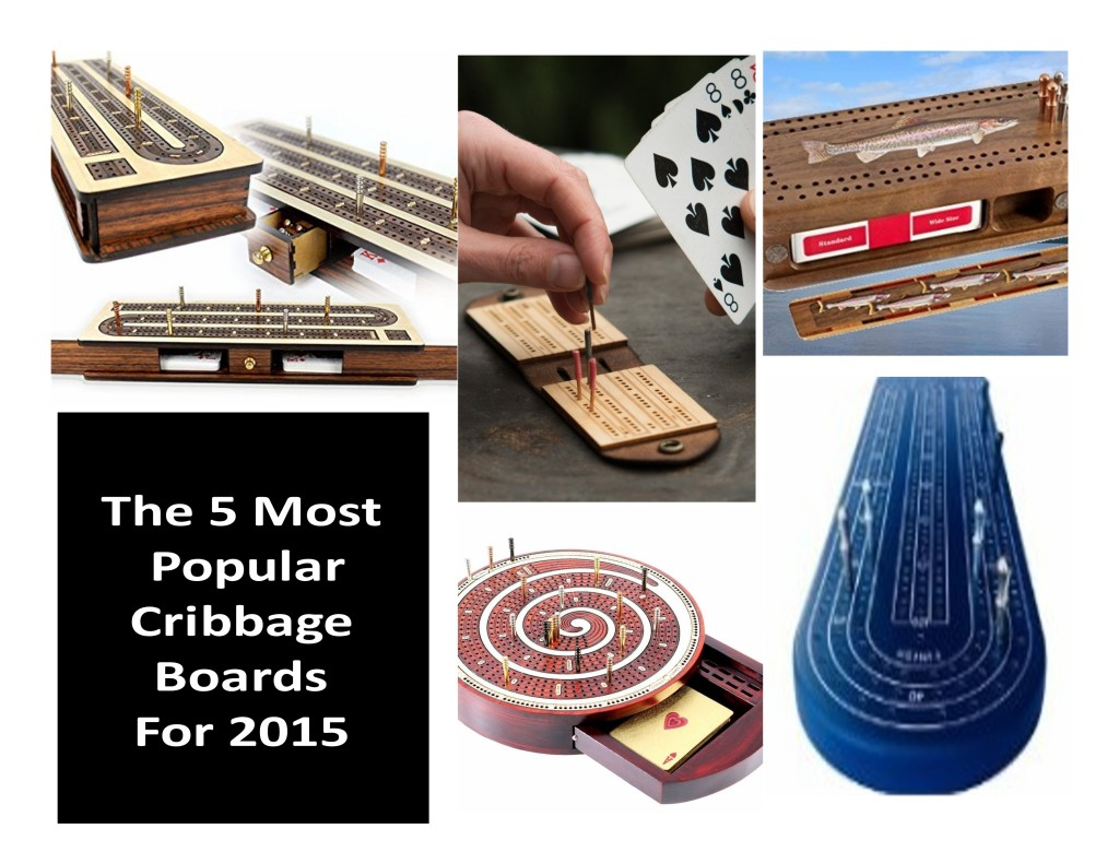 "Cribbage Boards For Sale Picks The Top 5 Most Popular Cribbage Boards For ""2015"