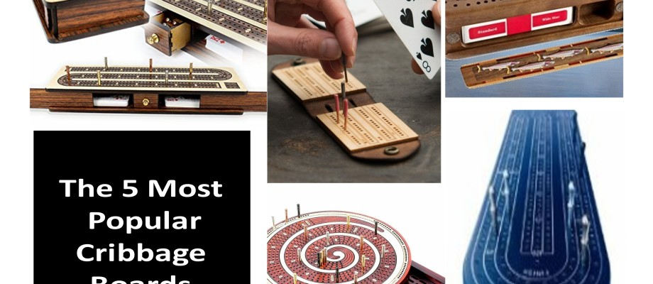 "The 5 Most Popular Cribbage Boards of ""2015"""