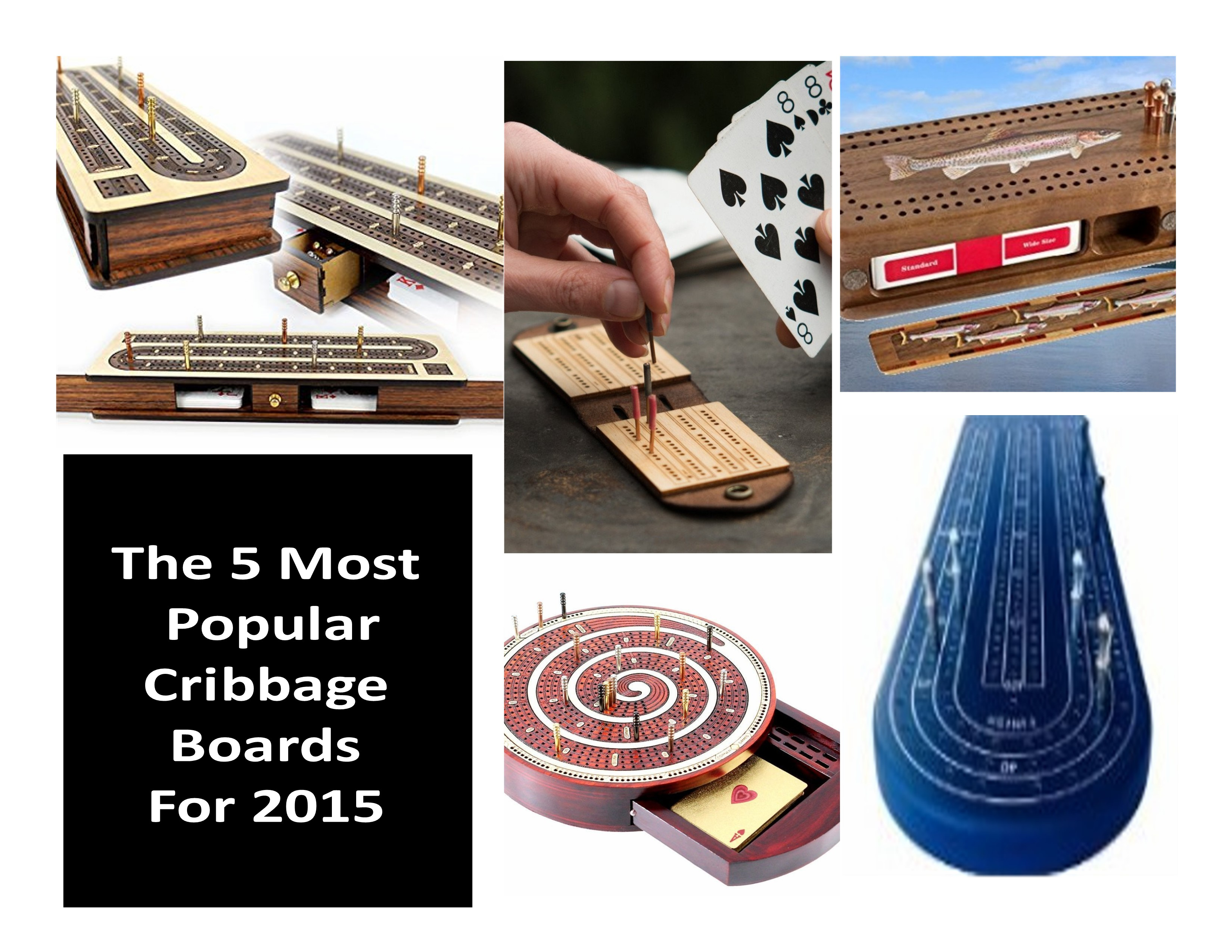 Crib boards for sale uk - The 5 Most Popular Cribbage Boards Of 2015