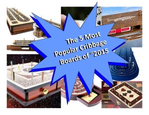 Top 5 Most Popular Cribbage Boards 2015