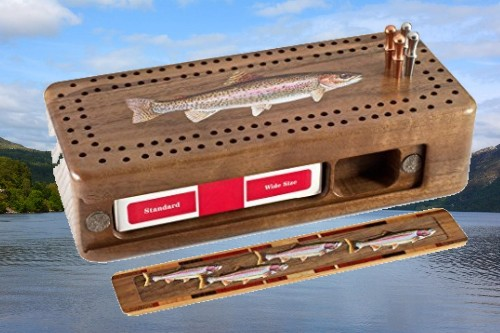 Wow! So Many Designs To Choose from – Mitercraft Cribbage Boards