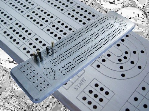 "This solid aluminum cribbage board is a top selection contender for the ""2016"" cribbage board season, and as long as it is being offered at the current price, CribbageBoardsFor Sale.com is giving it a double thumbs up."