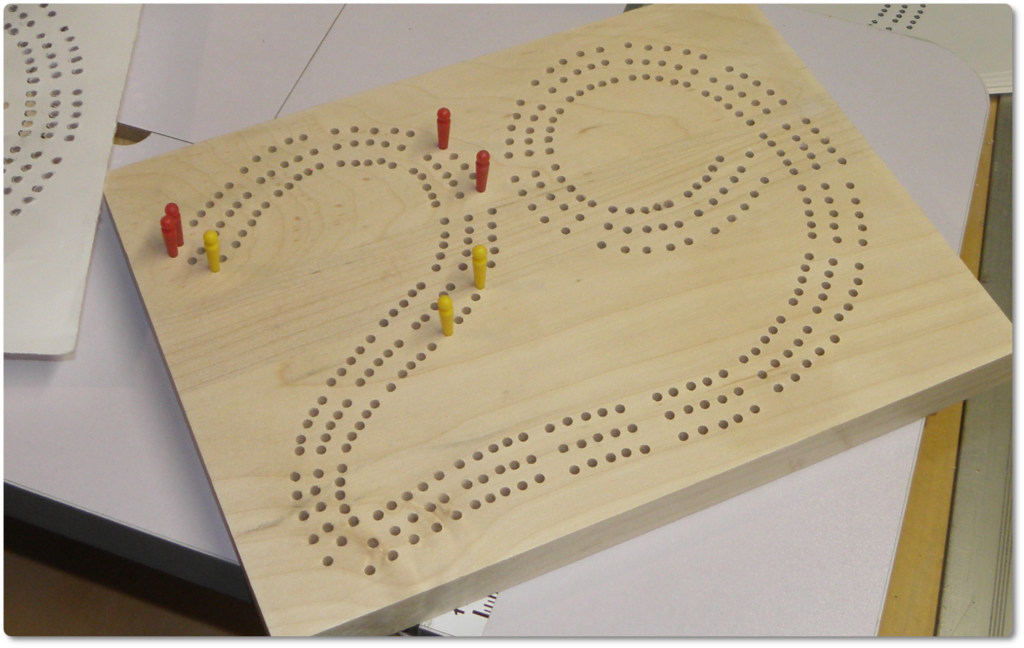 How To Make Grandpas High Hand 29 Cribbage Board